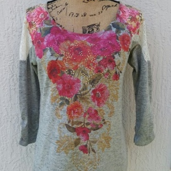great discount for buying now world-wide free shipping Style & Co Small Lace Floral Sweater
